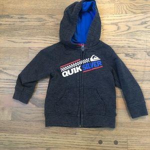 quicksilver hooded sweatshirt